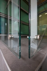 Garde-corps en verre type verre feulleté